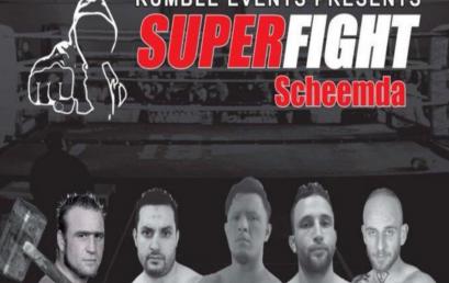 Superfight Gala terug in Scheemda