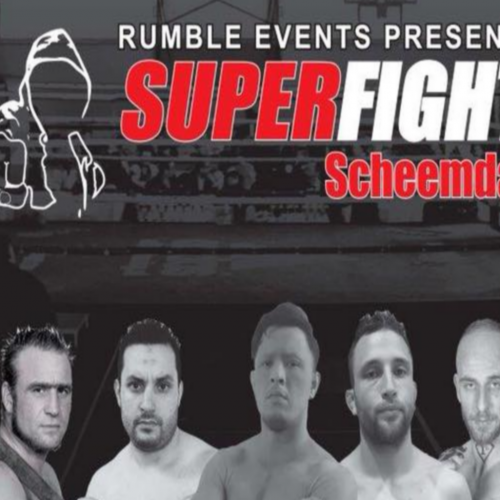 Superfight Gala terug in Scheemda